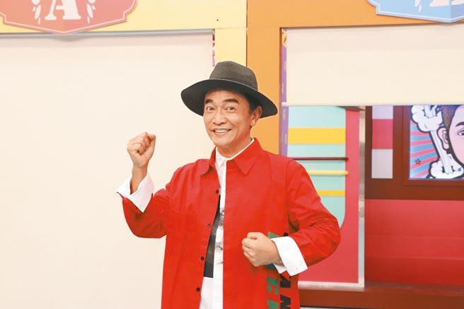 吳宗憲近日主持《小明星大跟班》,昨開直播吐心聲。(中天綜合台提供)