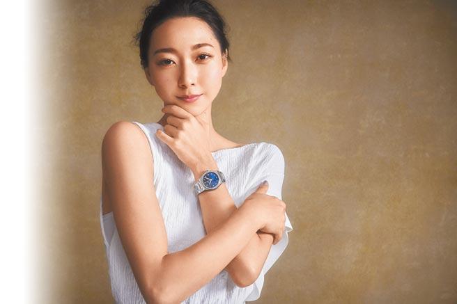 日本奥运体操选手AIRI HATAKEYAMA受邀担任真力时品牌代言人。(ZENITH提供)