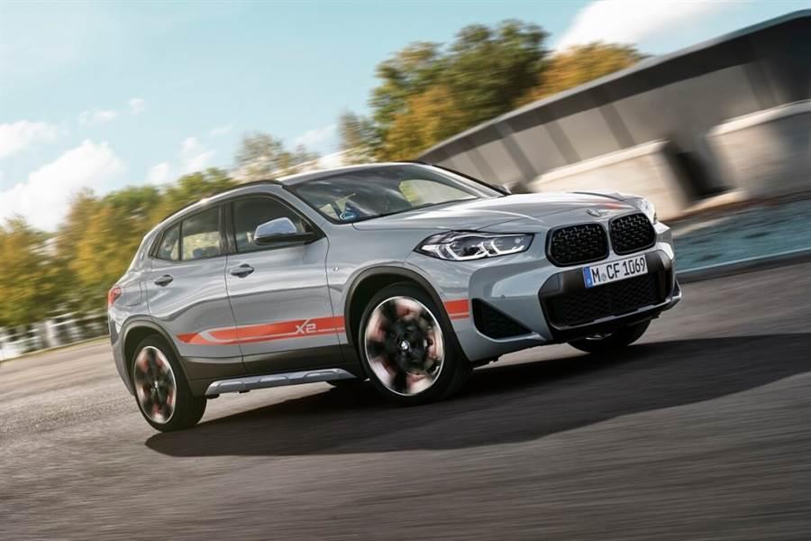 與年輕族群更貼近,BMW推出X2 M Mesh Edition