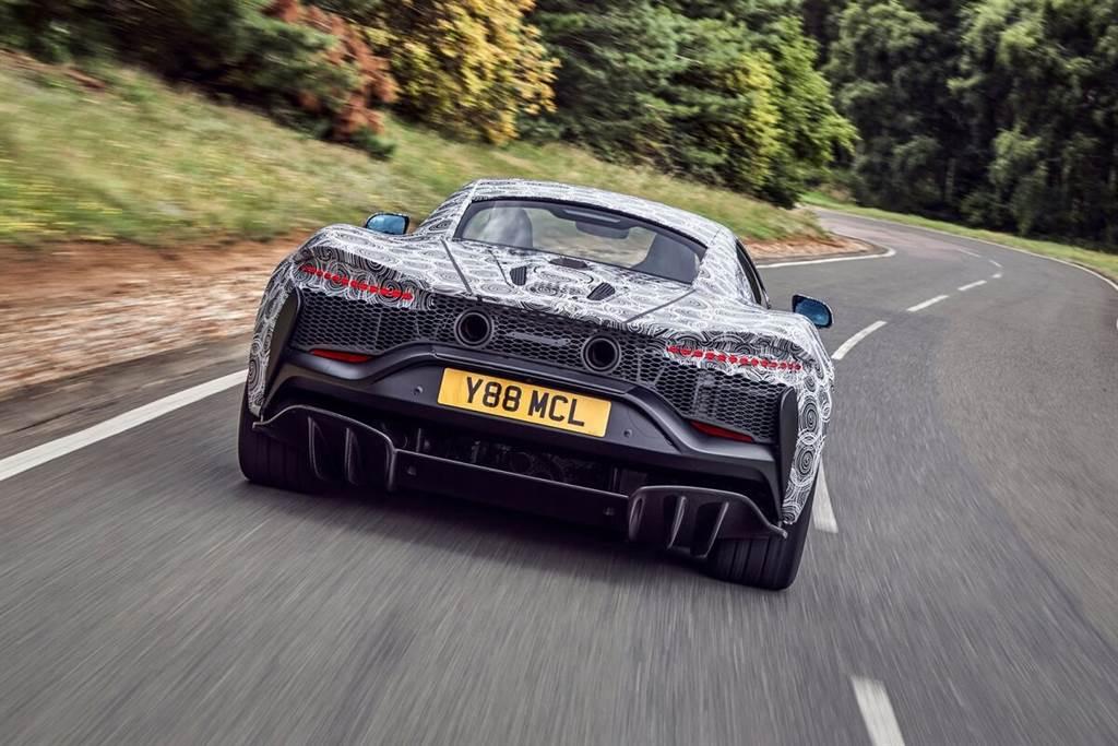 McLaren將推出全新油電混合超跑 首度搭載V6內燃引擎