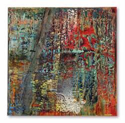 亞洲拍賣最貴西方藝術 里希特抽象畫近8億拍出