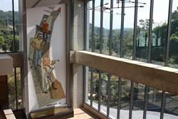 顏水龍大師國寶壁畫 豐原高爾夫俱樂部原樣保存