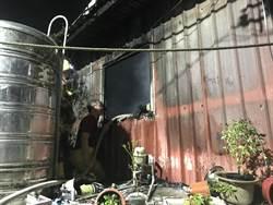 基隆民宅大火鄰居以為電線走火 警查疑遭男子縱火