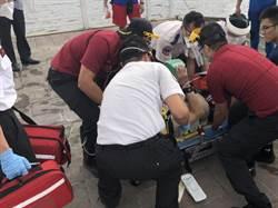 台北橋下方6旬男溺水 警消派橡皮艇救援