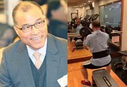 葉匡時舉25公斤啞鈴練肌肉 網驚:太強大了