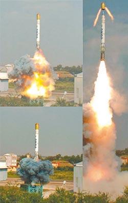 印無畏飛彈試射成功 可攜核武