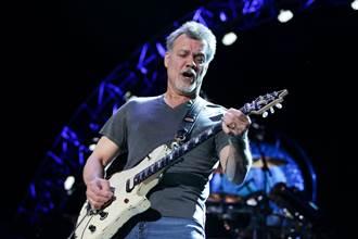 喉癌擴散 美傳奇搖滾吉他手艾迪范海倫病逝 享年65歲