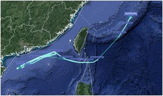 美軍電子偵察機再對大陸抵近偵察 緊貼廣東省海岸飛行
