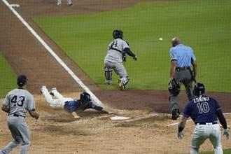 MLB》光芒4轟扳平系列賽 洋基怪力男做白工