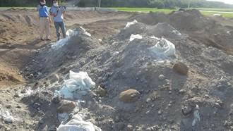 上萬噸廢棄玻璃纖維遭棄置中部 業者交保、掮客收押