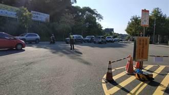 双十连假预估游客涌入慈湖 大溪警执行交通疏导