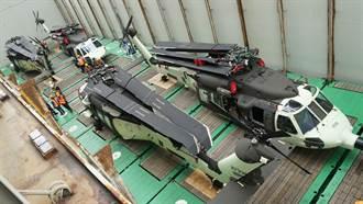 6架重型黑鷹直升機交機 空勤救災添新力