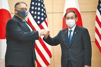 蓬佩奧放話 不會坐視北京武統 美國拉攏日印澳 合力對抗中國