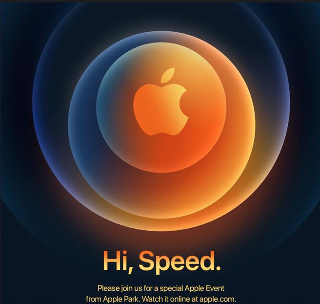 蘋果發出邀請函 iPhone 12系列將在10/14凌晨正式亮相