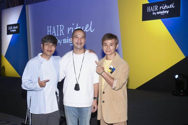 髮型師John、 Ivan、Tony。(Hair Rituel by Sisley提供)