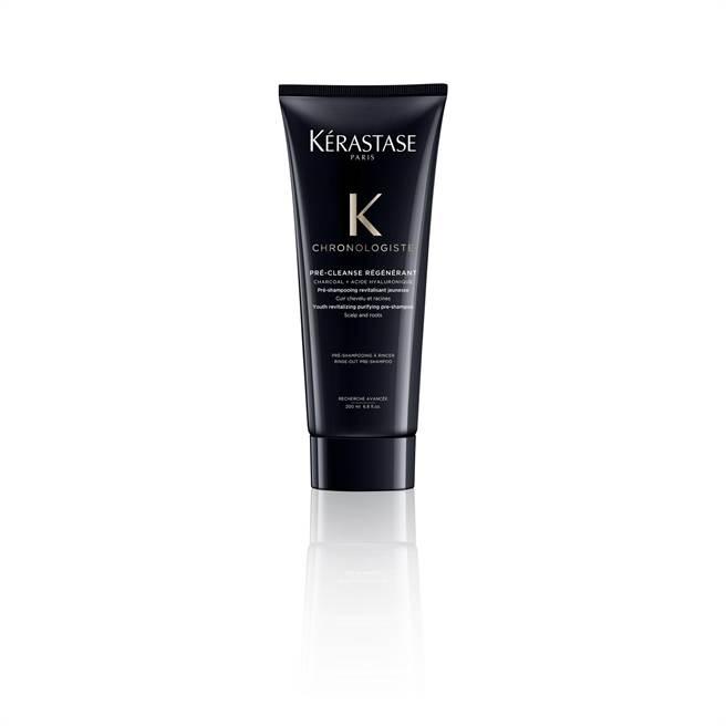 KERASTASE巴黎卡詩黑鑽極萃逆時淨髮浴200ml,1700元。(KERASTASE提供)