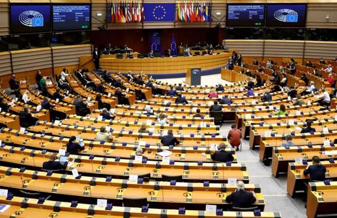 歐洲議會。(路透)