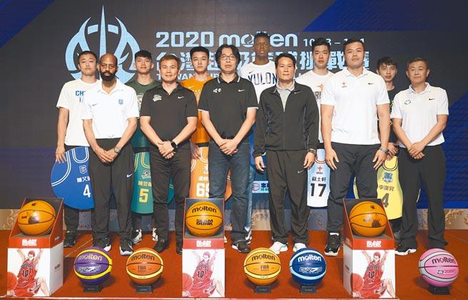 molten台灣超級籃球挑戰賽下周二起在台大體育館開打,由5支SBL球隊以及中華白隊展開兩個單循環的激戰。(中華籃協提供)