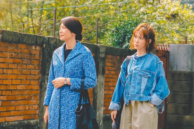 孫可芳(右)驚嘆丁寧的演技讓她非常震撼。(威視電影提供)