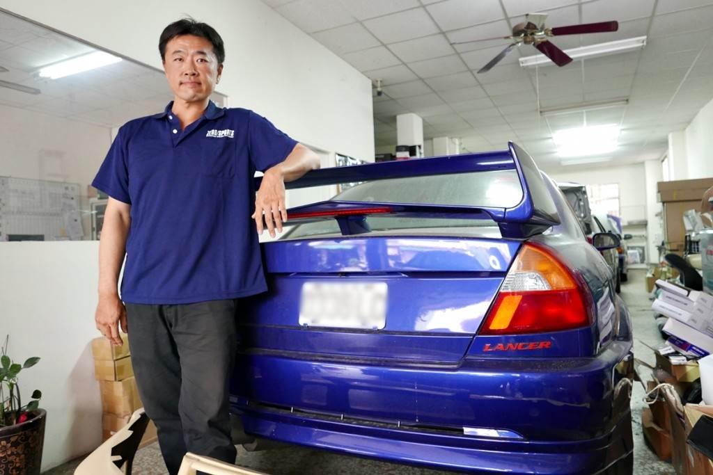 熱愛Mitsubishi工藝的汽車職人《陳彥彰》