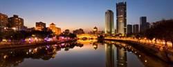 十一假期大陸夜遊城市成都第一