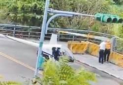 淡水亂飛直升機駕駛抓到了 陳姓男子與2乘客赴士檢偵訊