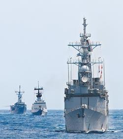 回擊共機 海軍西南海空域操演