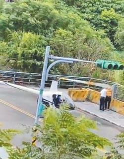 淡水直升機隨意起降馬路 民航局開罰