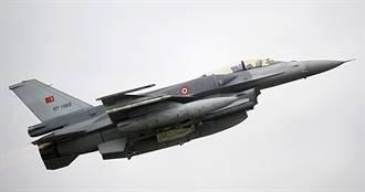 衛星照秀證據 土耳其在亞塞拜然秘密部署F-16V