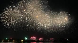 國慶焰火在台南,觀夕平台、四鯤鯓沙灘區當日禁戲水