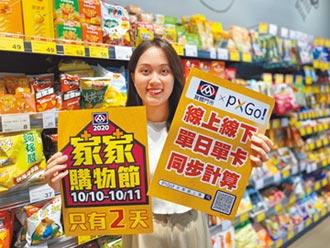全聯家家購物節 最高回饋20%