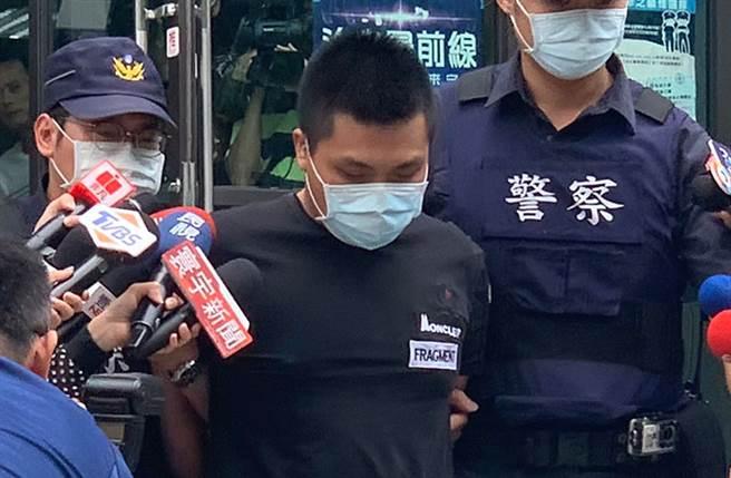 槍擊「館長」陳之漢的23歲劉嫌,警方查出他是竹聯幫寶和會成員。(中時資料照 王揚傑攝)