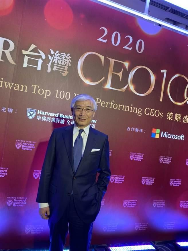 聯強國際集團總裁杜書伍連續第三度獲選《哈佛商業評論》台灣CEO前10強,名列台灣第4大最佳績效CEO。圖/林淑惠