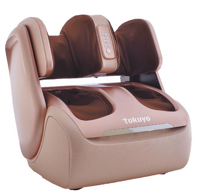 Global Mall新北中和店周年慶推出tokuyo A咖美腿機,原價1萬9800元,優惠價1萬5800元。(Global Mall提供)