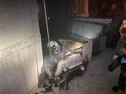 屏東醫院復健大樓凌晨火警   急疏散36人  起火點是「病床」