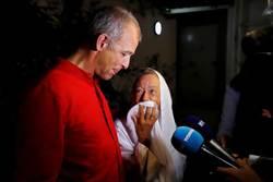 遭綁架1381天獲釋 7旬女志工含淚與子重逢