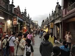 國慶連假首日天氣微陰 出遊人潮較中秋少