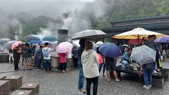 無畏天候及台南國慶焰火吸客 宜蘭仍湧入大量遊客