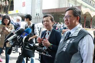 經長王美花赴石門水庫聽取水情 力保工業、民生產業用水無虞