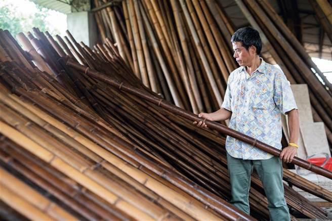 竹子,一直是東方文化的重要符碼。(圖/林旻萱)