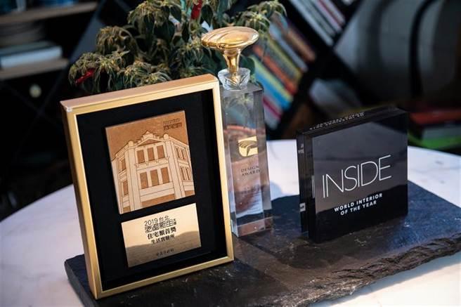 為老屋按下播放鍵,邱柏文設計的「Living Lab生活實驗所」拿下2019年INSIDE世界室內設計節住宅類首獎及年度大獎。(圖/莊坤儒)