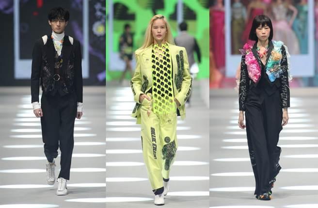 周裕穎拋開永續時尚的嚴肅外衣 台北時裝週讓垃圾華麗轉生(圖/品牌提供)