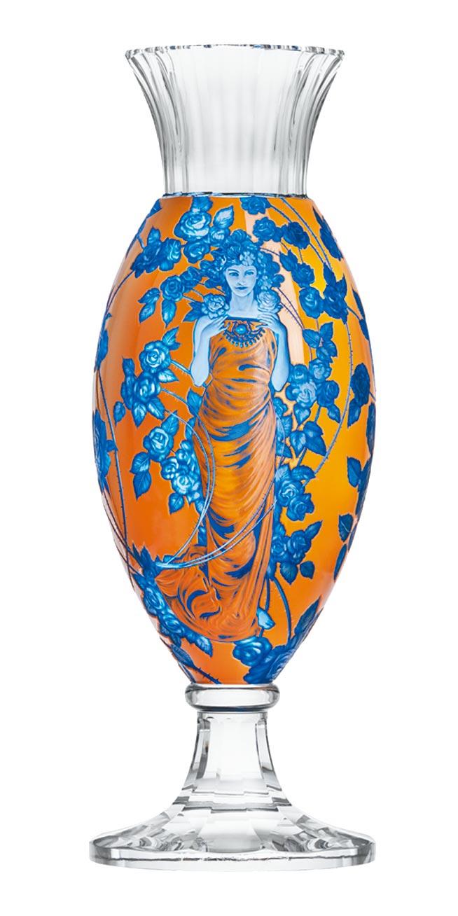 玫瑰花仙女花瓶,限量15件,定價144萬7000元。(國裕精品提供)