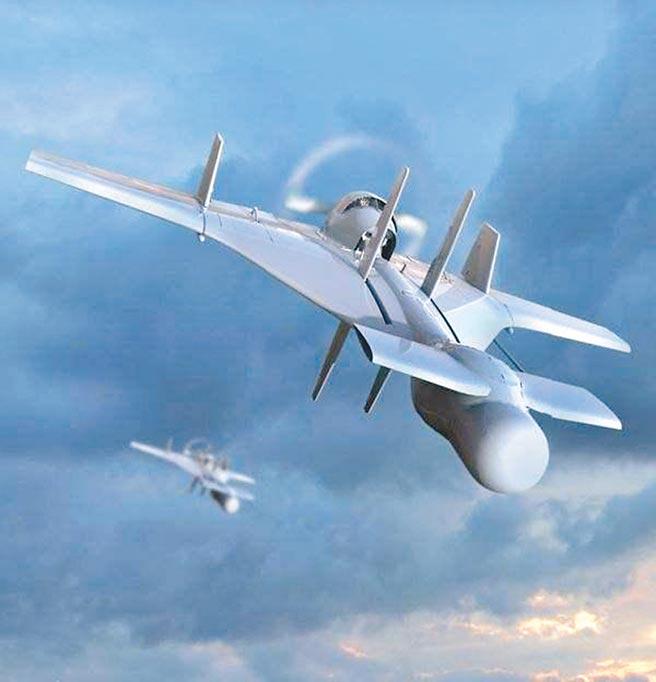 哈比無人機。(取自環球網)