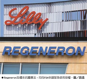 川普誇讚抗體療法極具效果 Regeneron、禮來 申請緊急使用授權