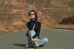 女星坐路中央拍網美照 交警轉PO貼文:已違法