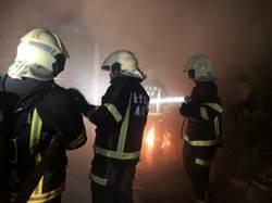 台東池上傳惡火 冒出大量濃煙 獨居婦困屋內身亡