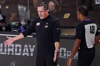 NBA》不怕罰款?湖人主帥怒批裁判連兩次誤判