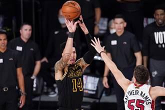 NBA》谈格林三分没进 詹皇:我信任他