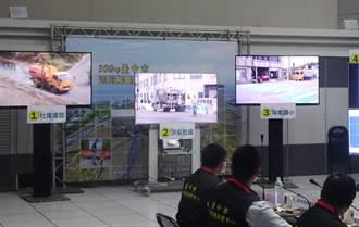 進入河川揚塵好發期 中市首度啟動AI物聯網監測自動灑水系統